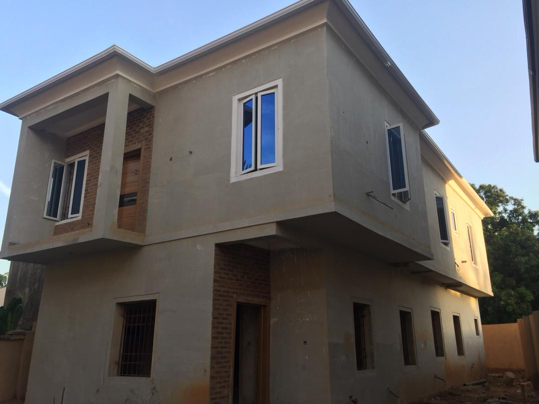 2 units of 4 bedroom uncompleted duplex for sale in Maryland