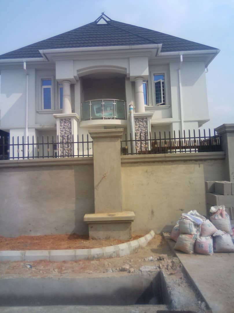 90 percent completed Duplex for Sale in OGBA IKEJA.