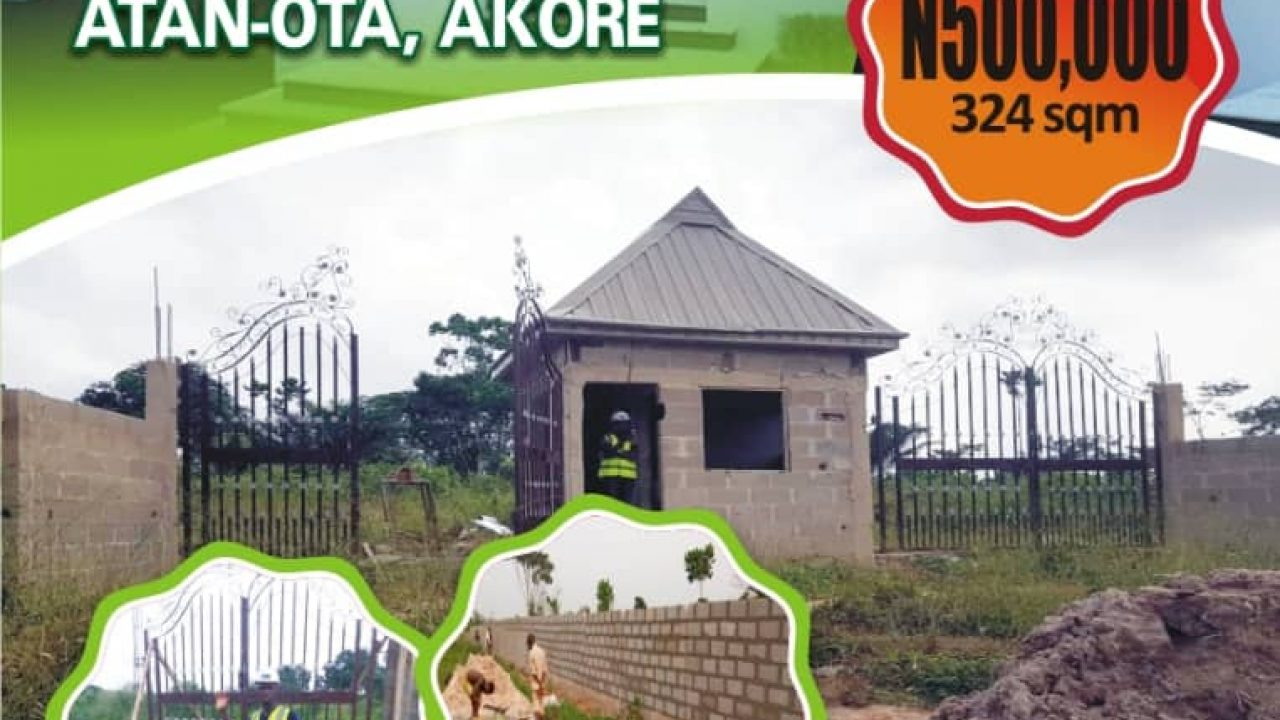 LANDS FOR SALE IN  ATAN-OTA FOR SALE.
