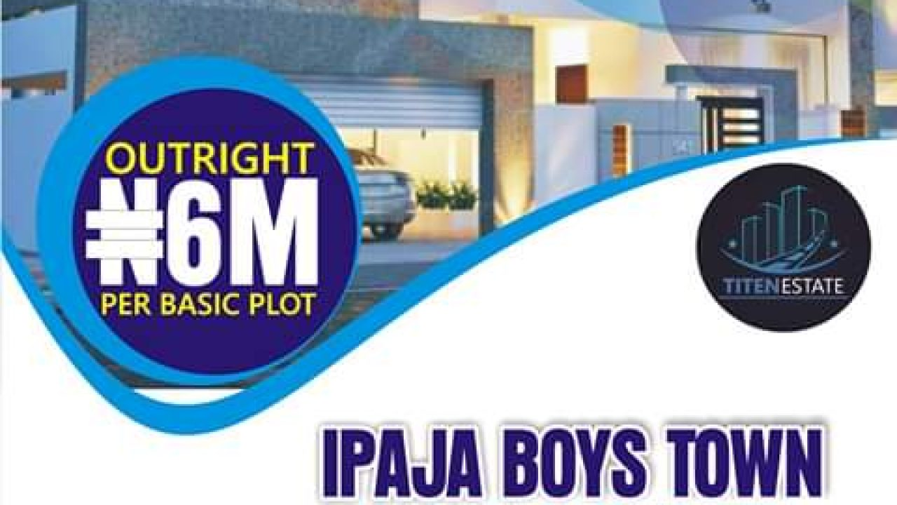 LANDS FOR SALE IN IPAJA BOYSTOWN,LAGOS.