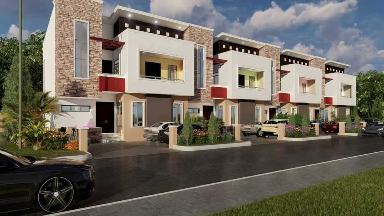3BEDROOM TERRACE DUPLEX FOR SALE IN APO,ABUJA.
