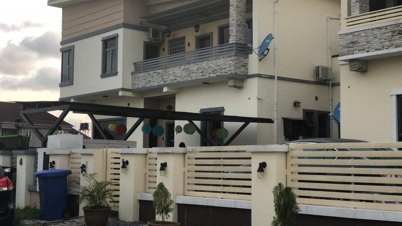 HOUSE FOR RENT @ LAKEVIEW ESTATE CHEVRON,LEKKI