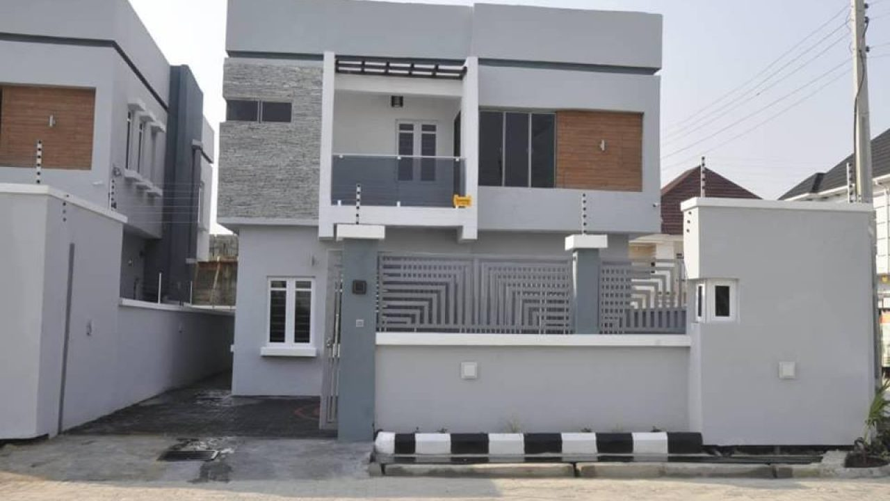LOCATION-AJAH-FOUR BEDROOM HOUSE FOR SALE IN LEKKI-AJAH