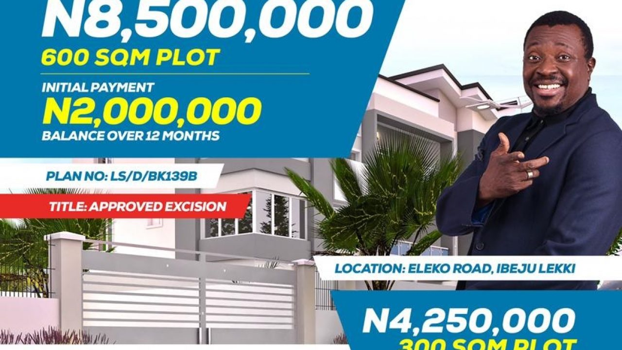LAND FOR SALE AT IBEJU LEKKI LAGOS
