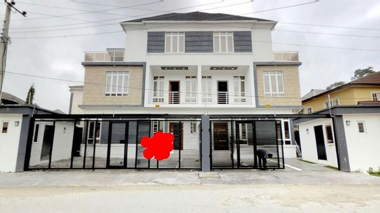 OSAPA LONDON:SEMI DETACHED DUPLEX FOR SALE AT OSAPA LONDON LEKKI