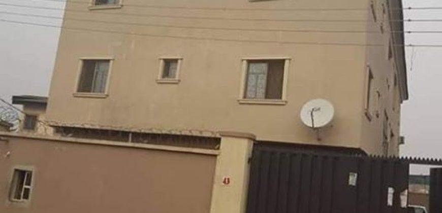 6 UNITS OF 3BEDROOM FLAT FOR SALE AT YABA