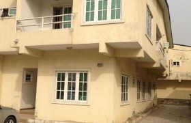 4Bedroom semi detached duplex with a room Bq For Sale in AJAH