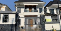 5BEDROOM  HOUSE FOR SALE AT LEKKI