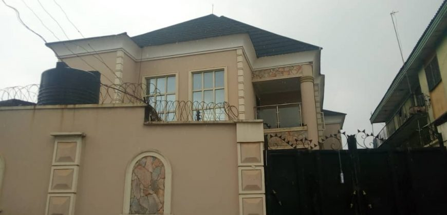 iyana ipaja-CHEAP 4bedroom house+2units of 3bedroom flat for sale in iyana ipaja lagos