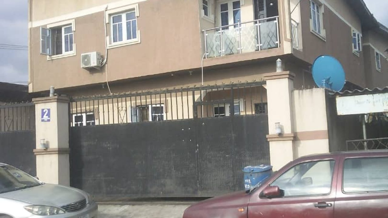 flats and houses for sale at shogunle oshodi lagos