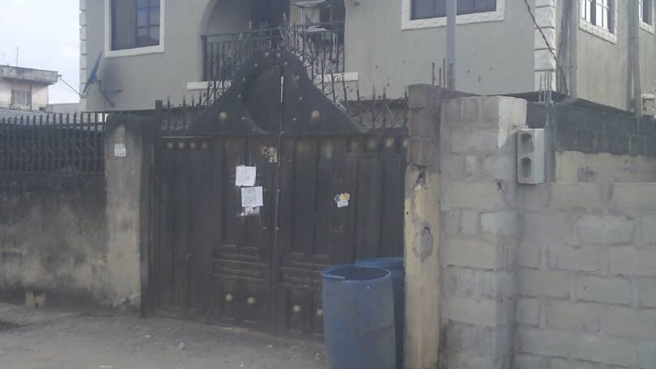 FLATS AND HOUSES FOR SALE AND RENT AT SHOGUNLE OSHODI LAGOS