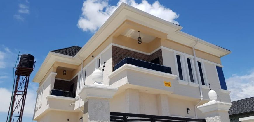 Semi detached house for sale at ikate lekki
