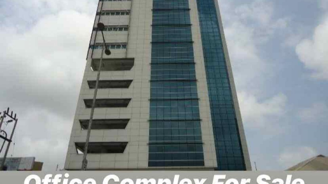 Newly Built 15 Floors Highrise Office Complex For Sale In Lagos