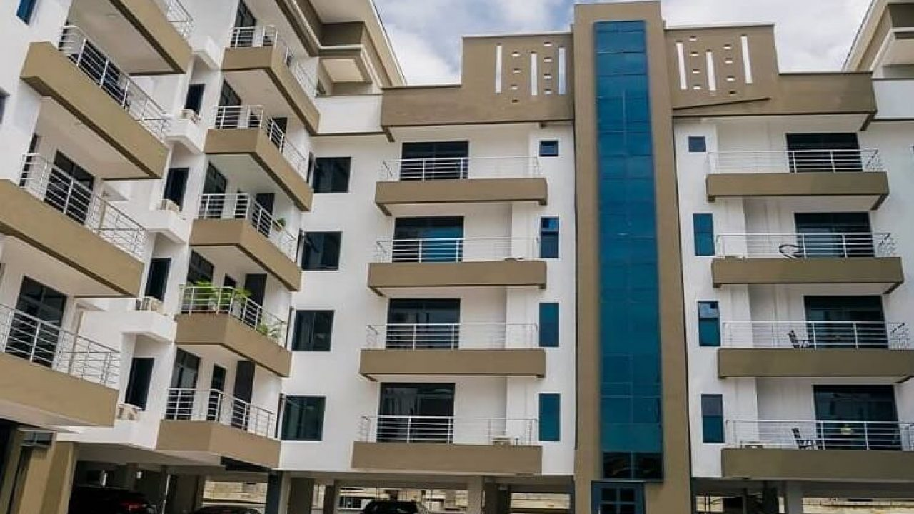 SHORT LET: 1 BEDROOM HOUSE FOR RENT IN VICTORIA ISLAND,LAGOS