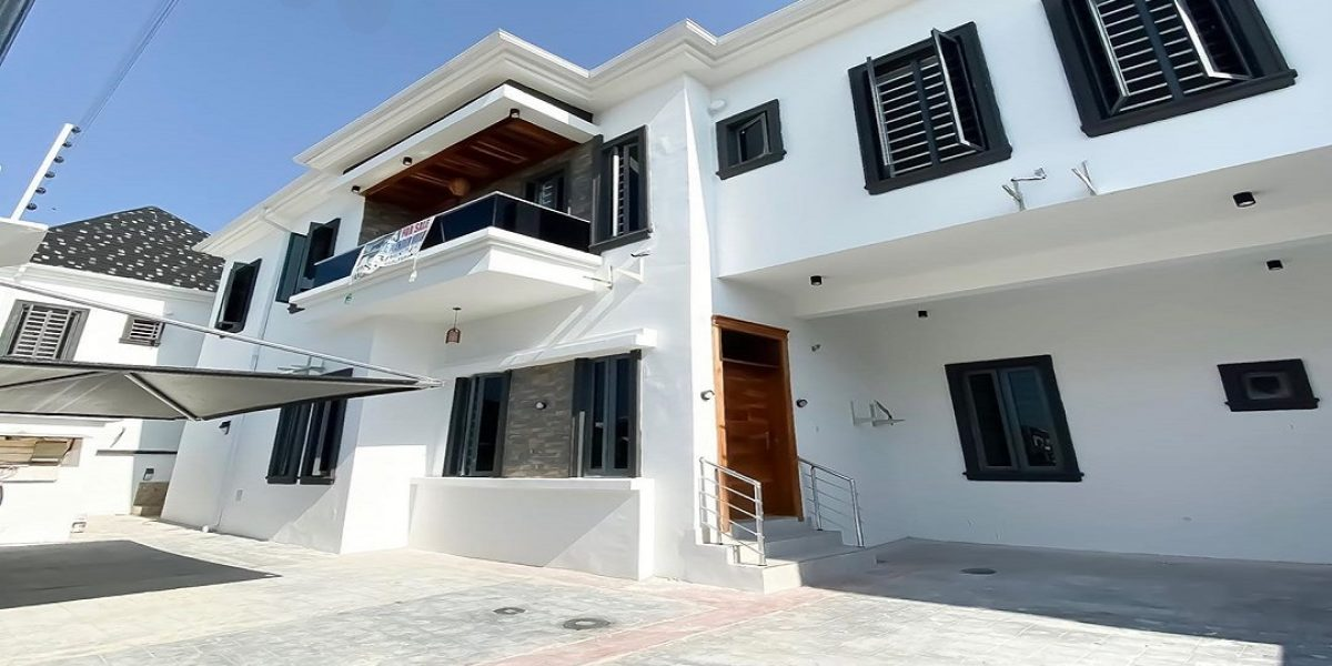 4 bedroom semi detached duplex for sale in ikota lekki