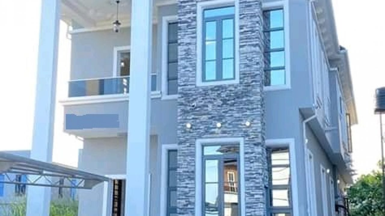 5 bedroom fully detached duplex for sale in lekki, lagos