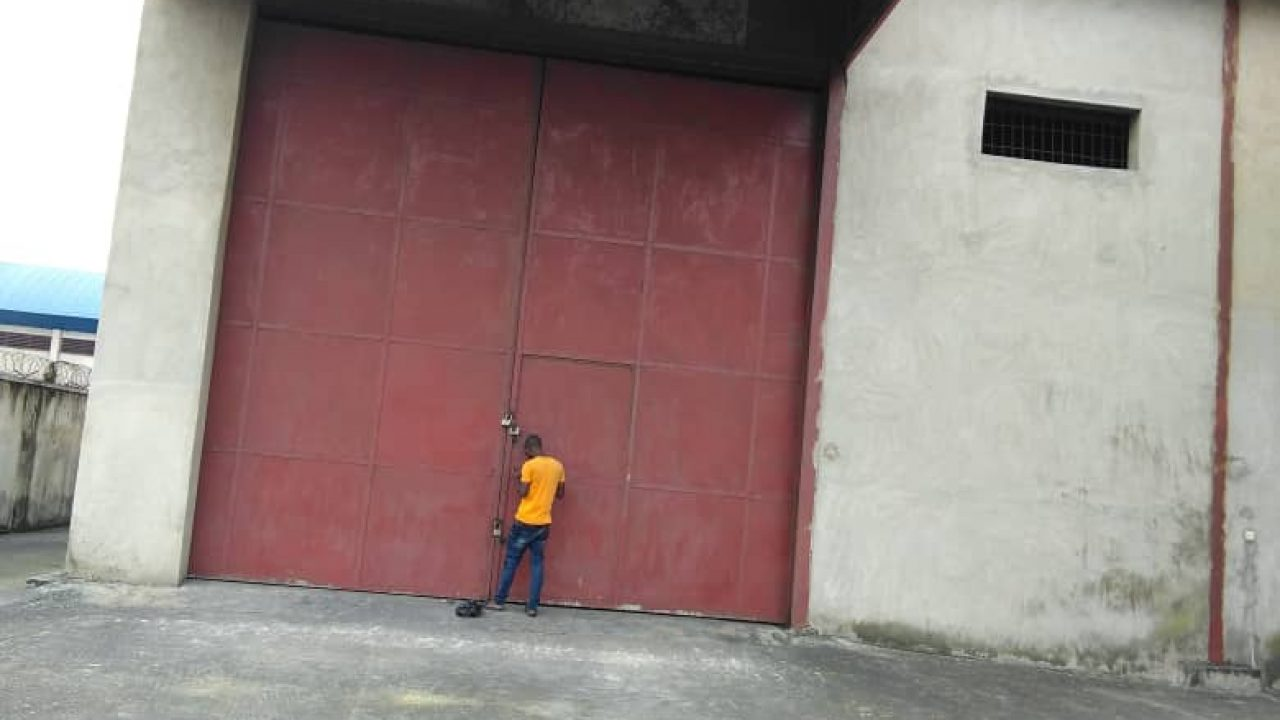 WAREHOUSE FOR SALE IN AMUWO ODOFIN INDUSTRIAL ESTATE LAGOS