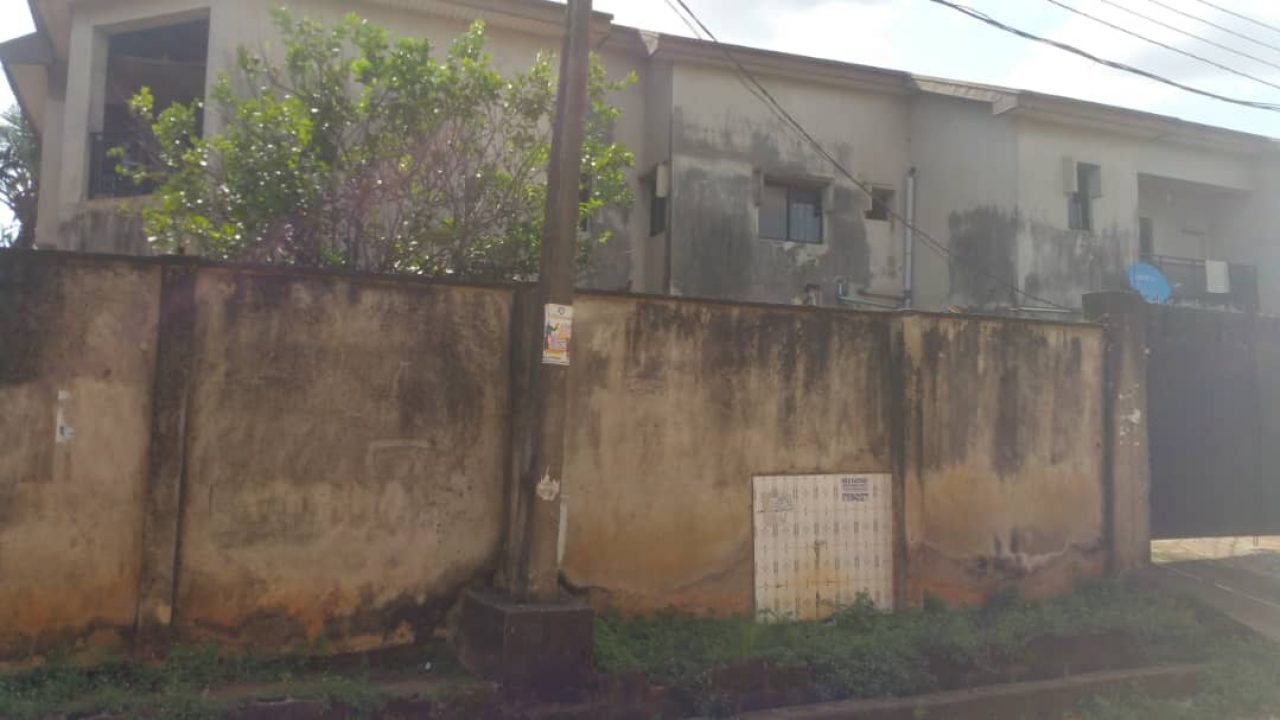 5 BEDROOM SEMI DETACHED DUPLEX FOR SALE IN ISOLO LAGOS