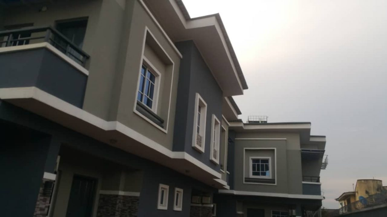 4 units of 3 BEDROOM DUPLEX FOR SALE IN OKEAFA ISOLO LAGOS