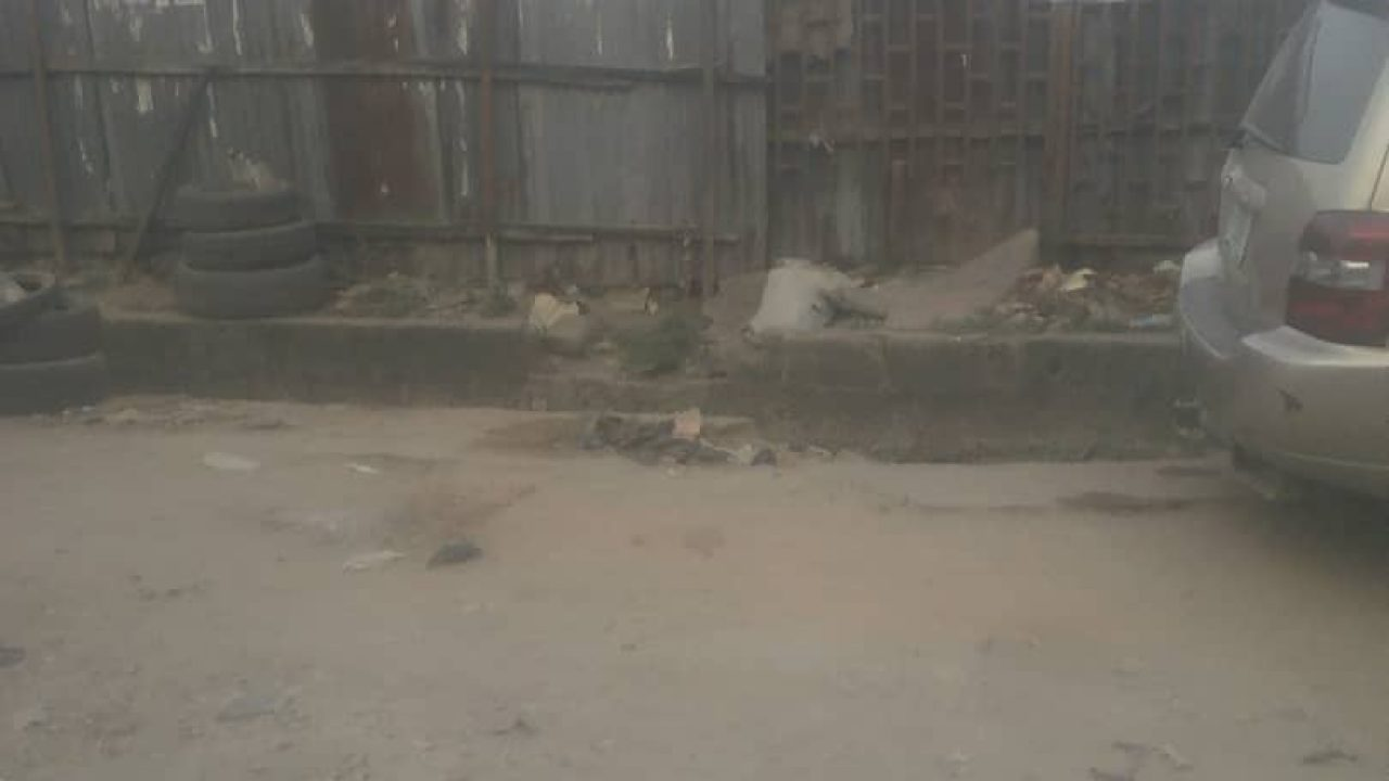empty land in oshodi lagos for sale