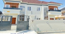 SEMI DETACHED DUPLEX FOR SALE IN CHEVRON LEKKI