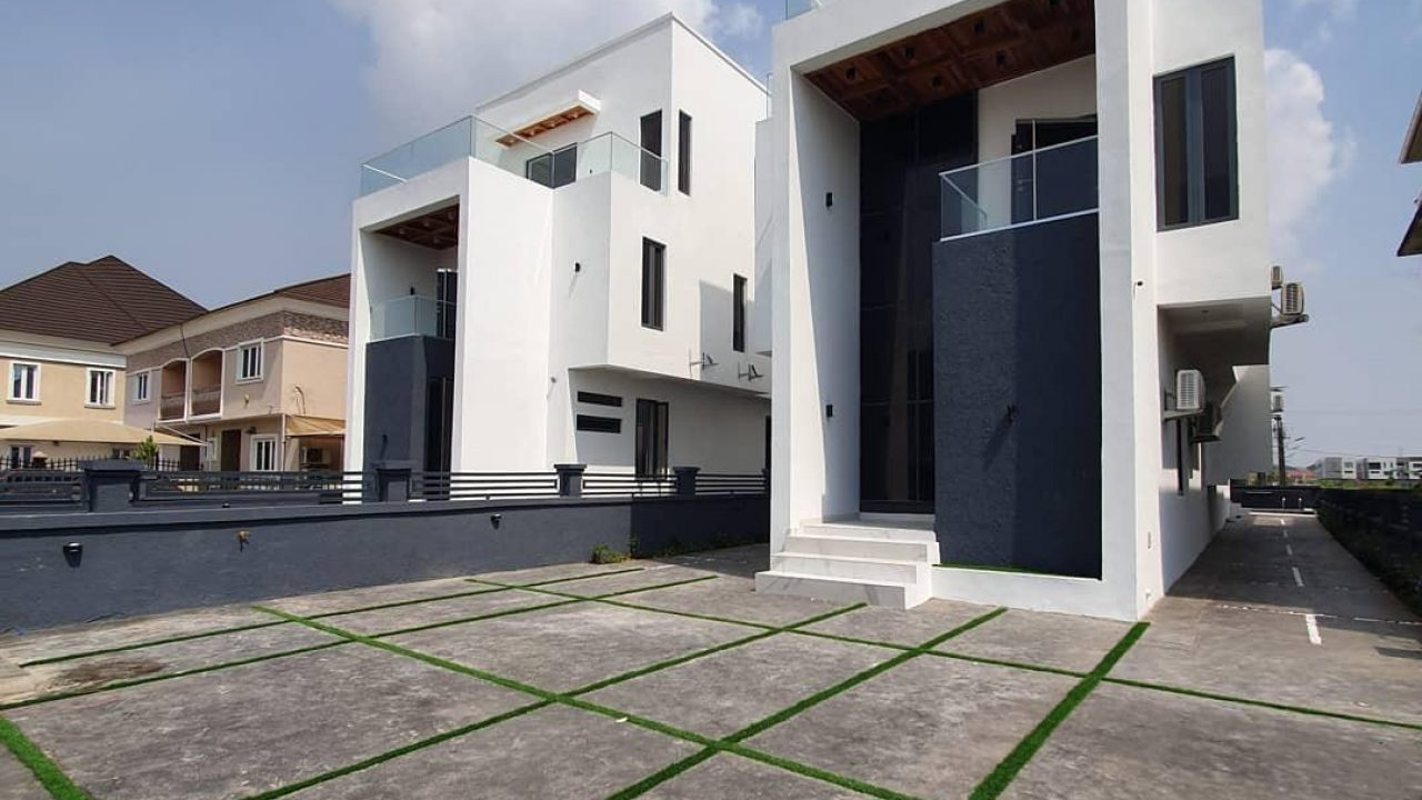 detached duplex for sale in lekki phase 1