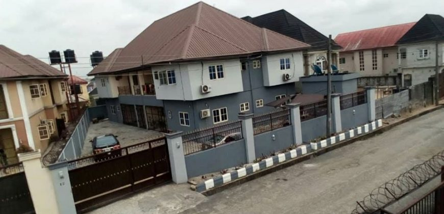 DUPLEX FOR SALE IN PORTHARCOURT,RIVERS STATE NIGERIA