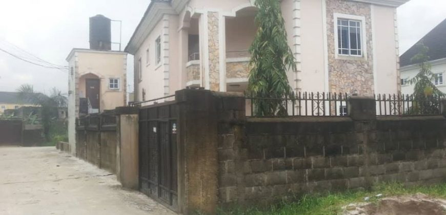 4 BEDROOM DUPLEX FOR SALE IN OBIO-AKPOR COUNCIL RIVERS STATE