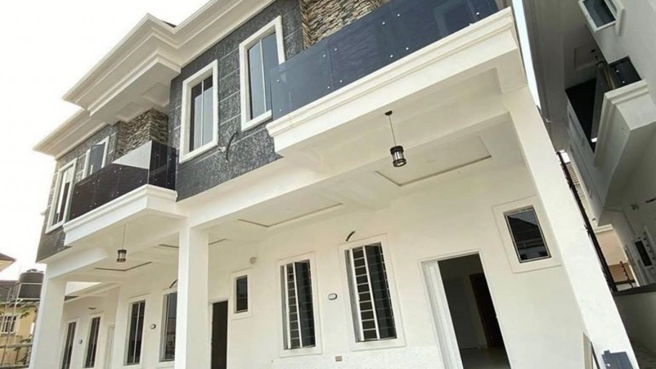4 bedroom terrace for sale in ikota villa estate lekki lagos