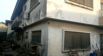 BLOCK OF 6 BEDROOM FLATS IN SURULERE FOR SALE,LAGOS.