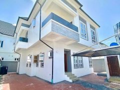 DUPLEX FOR SALE AT  CHEVRON LEKKI