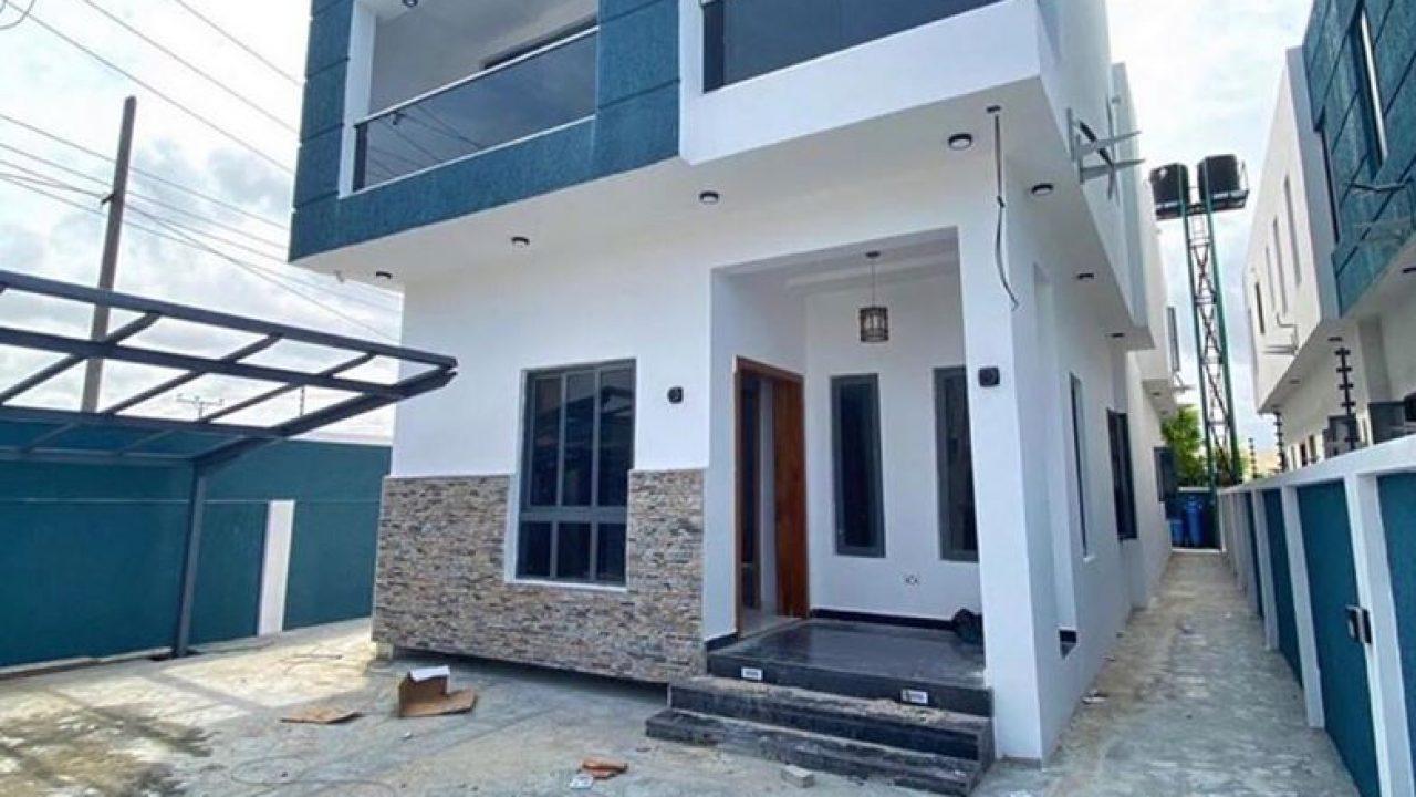 FULLY DETACHED DUPLEX FOR SALE IN LEKKI