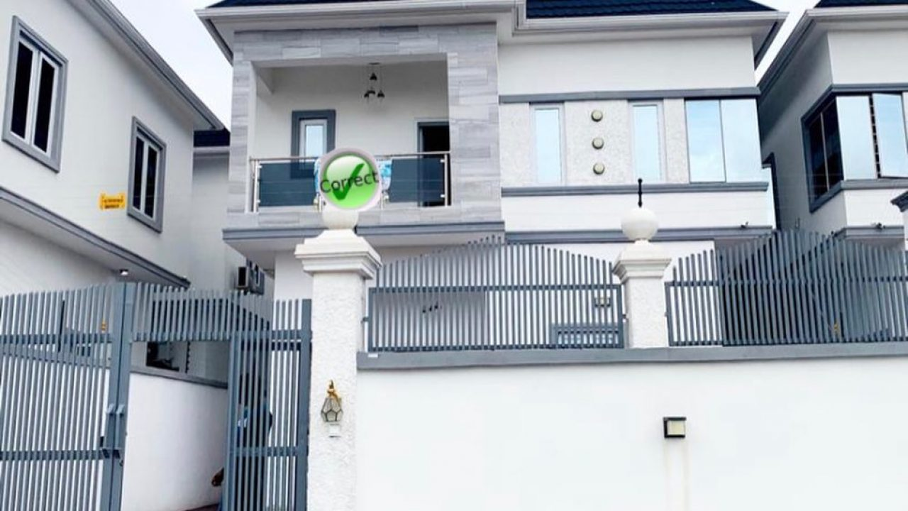 duplex for sale at Agungi lekki