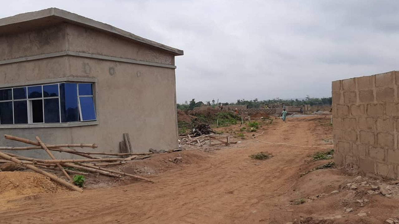 property in mowe  Along lagos ibadan road