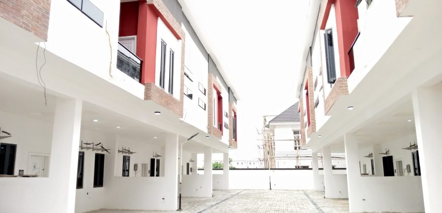 semi detached duplex for rent in lekki lagos