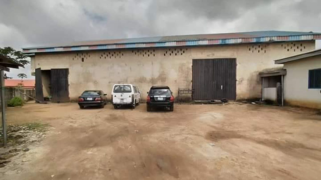 warehouse for rent in owerri,imo