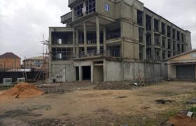 A Nearly completed and well-designed purpose built office building on four floors