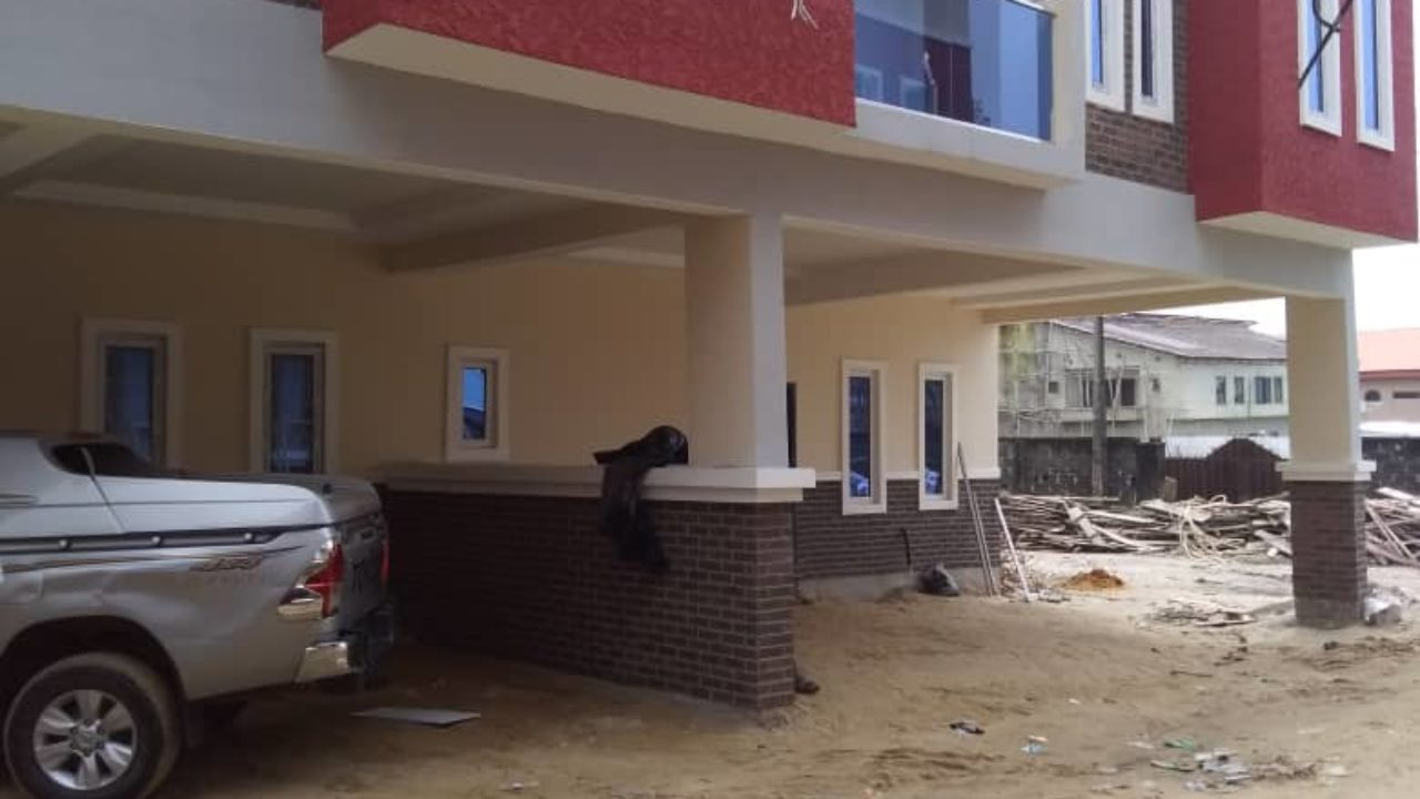Extotically finished 4 Bedroom Terrace Duplex For Sale in Ikota Lekki Lagos