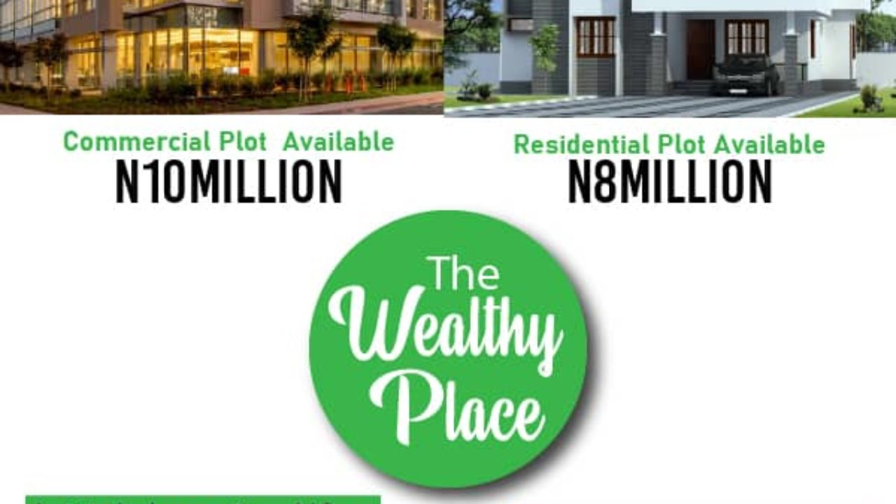 Plot of Land for sale in The Wealthy Place Estate Ibeju Lekki