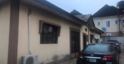 4 bedroom bungalow with c of o at Moses Emeya St off Social club road New Oko Oba@ 30m