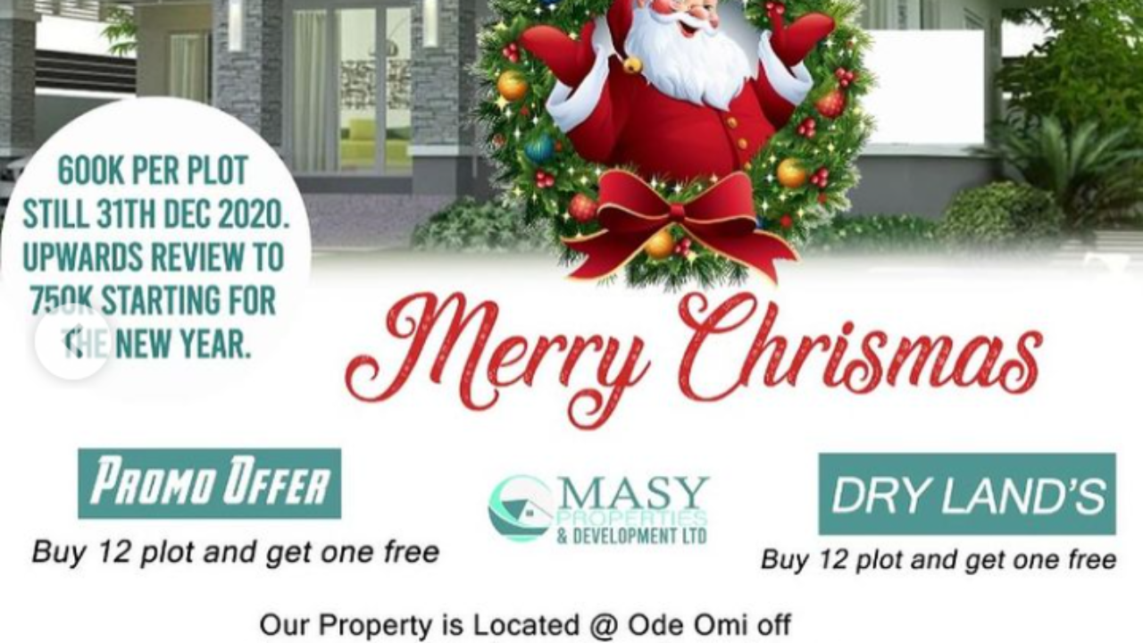 land for sale in lekki-Christmas Sale
