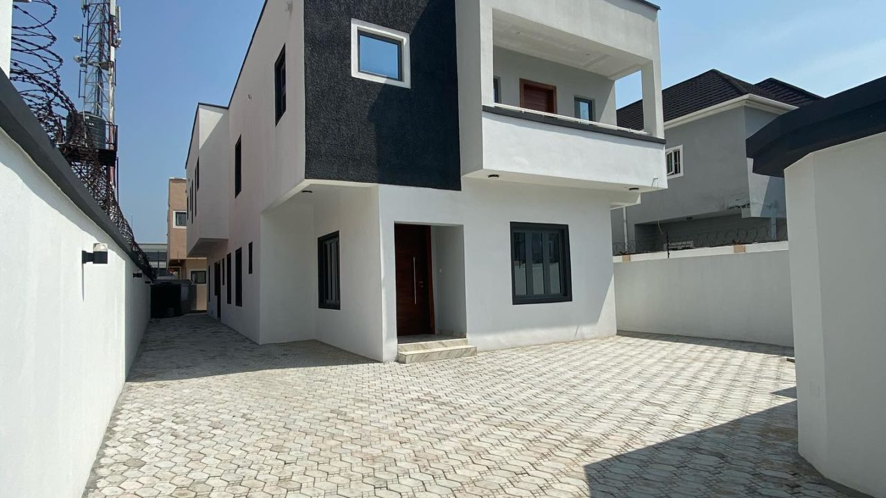5 bedroom duplex for sale in lekki 1