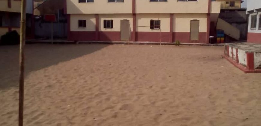A FUNCTIONAL SCHOOL AVAILABLE FOR SALE AT LAGOS