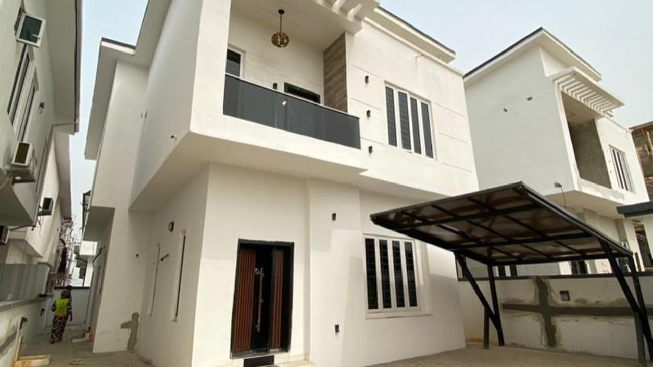 duplex for sale at ajah lekki lagos