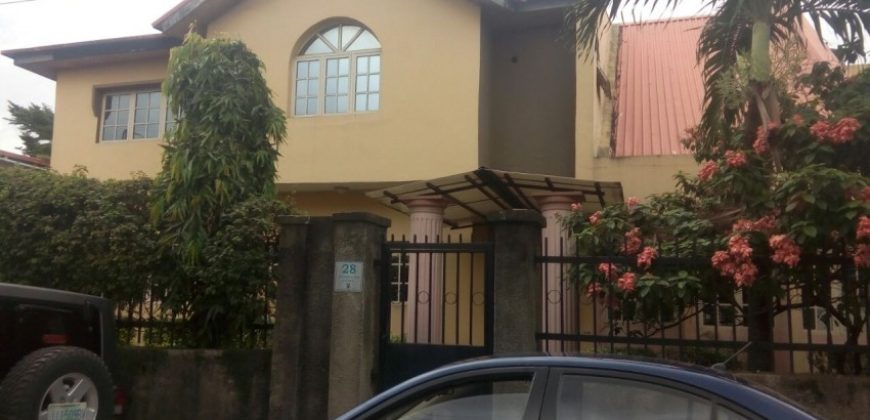 6 bedroom house for sale at alausa ikeja