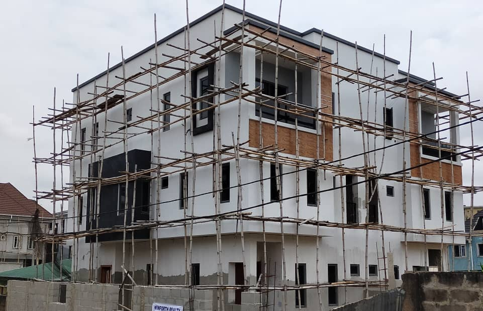 why the cost of building rose by over 60 percent in one year in Nigeria