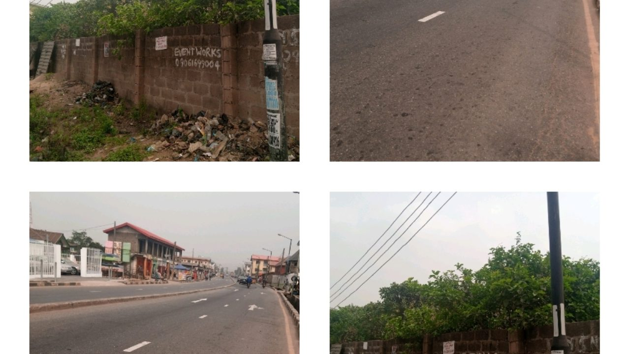 2 plots of land available for sale Abule egba
