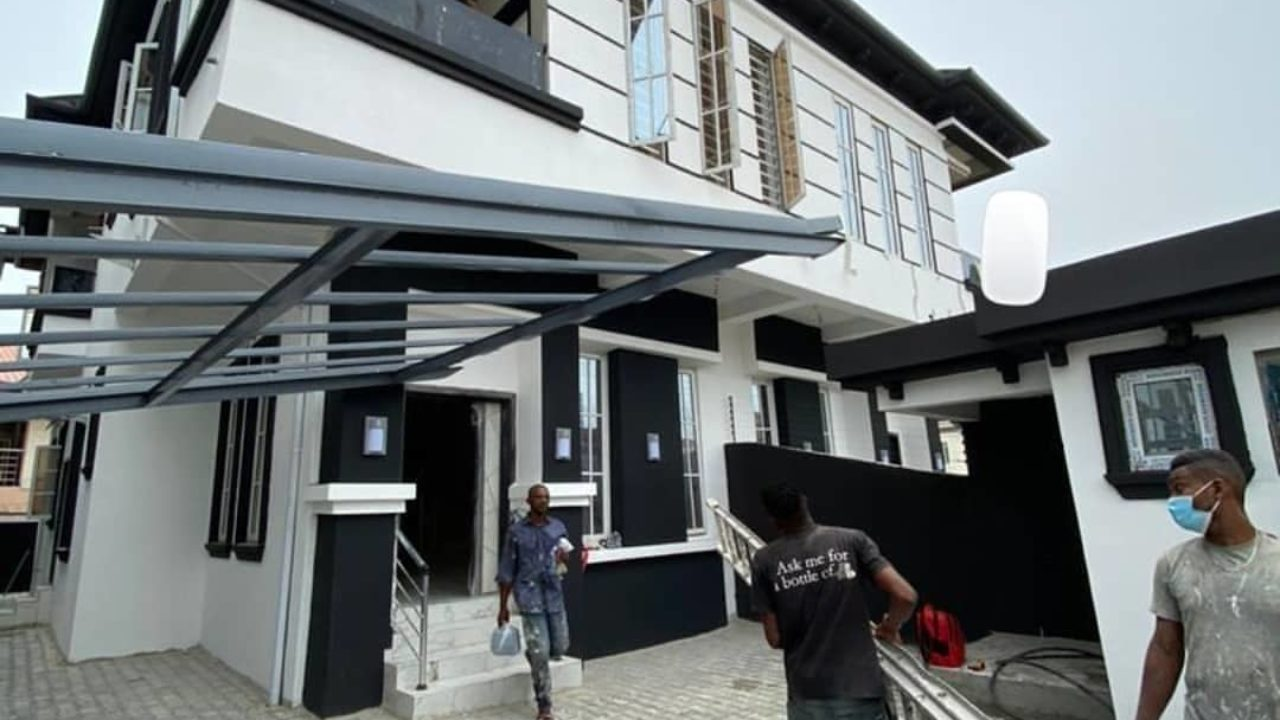 SEMI DETACHED DUPLEX FOR SALE IKOTA