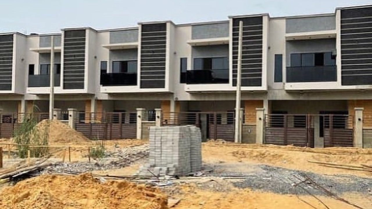 4 bedroom terrace duplex for sale in Ajah