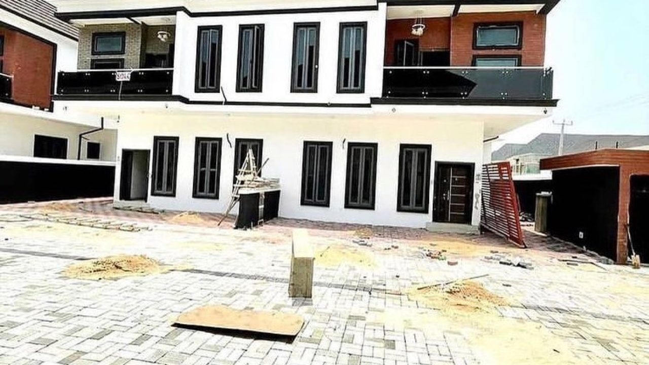 4 bedroom duplex in ikota lekki